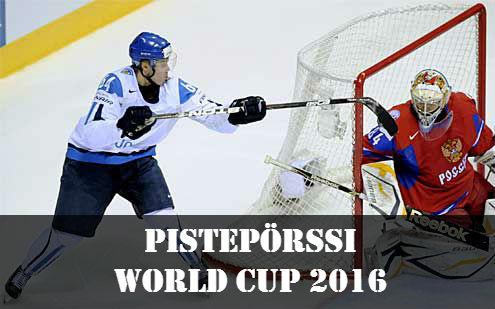 Jääkiekon World Cup 2016 pistepörssi