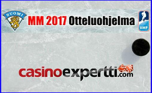 MM 2017 otteluohjelma