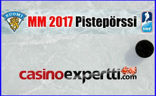 MM 2017 pistepörssi