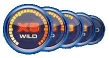 Multiplier Wild-symboli - Drive Multiplier Mayhem