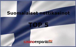 Suomalaiset nettikasinot TOP 5