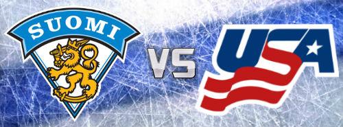 Suomi - USA kertoimet ja tulokset - Jääkiekon MM