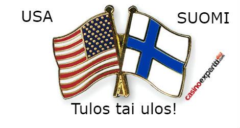 USA - SUOMI - Jääkiekon MM-kisat - Tulos tai ulos