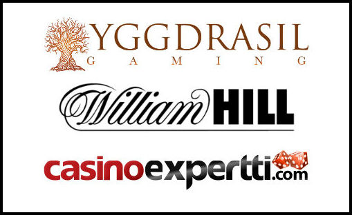 Yggdrasil Gaming. William Hill, CasinoExpertti