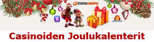 Casino joulukalenteri