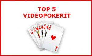 top 5 videopokerit